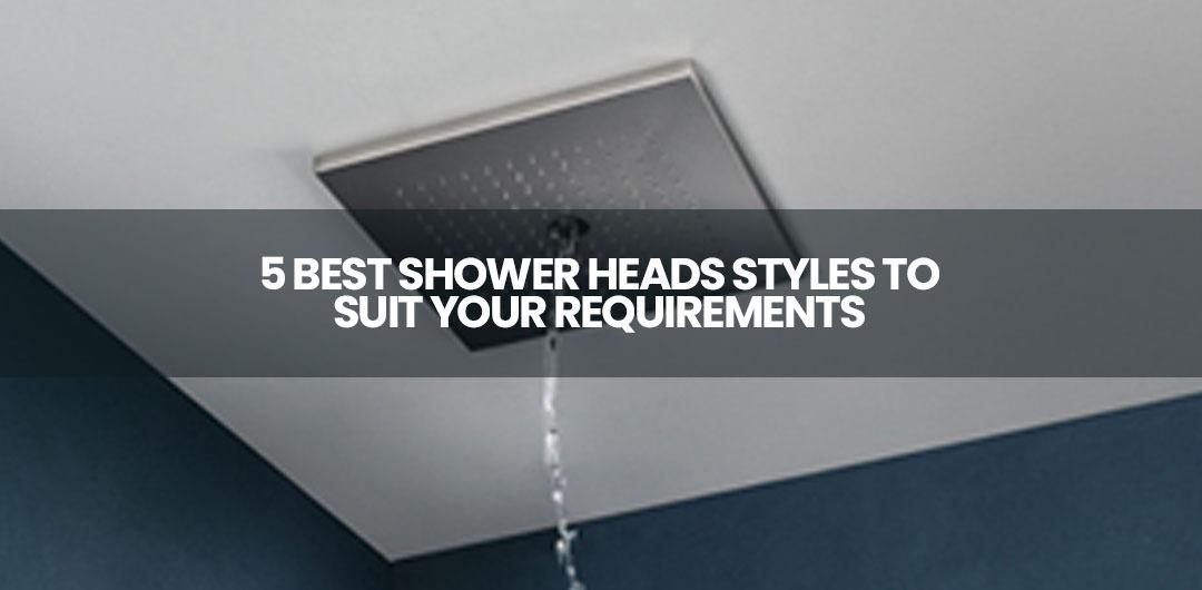 best shower set