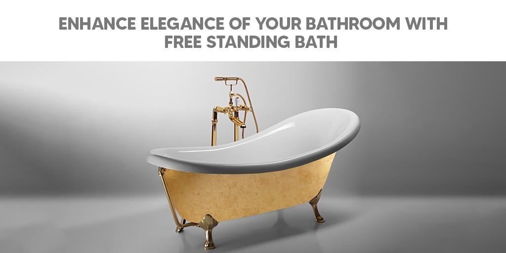 Enhance Elegance Of Your Bathroom With Free Standing Bath