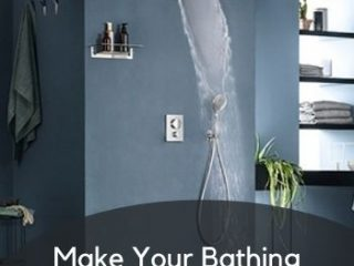 Make Your Bathing Experience More comfy with Wall Shower Areas